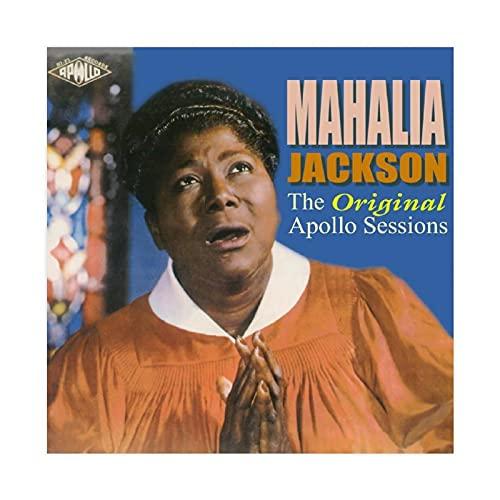 Póster original de Mahalia Jackson The Apollo Sessions - Póster de lienzo para pared, decoración de sala de estar, dormitorio, 50 x 50 cm, estilo unframe-1