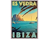 AZSTEEL Retro Vintage Style Travel Poster Or Canvas Picture