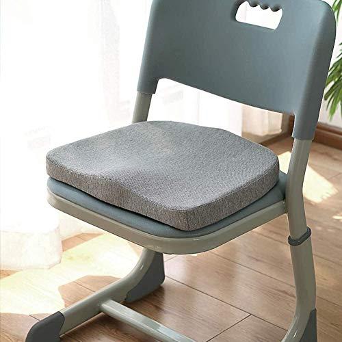 ZLJ Cuscino per Sedia Design ergonomico Cuscino per Sedile in Memory Foam con Lacci Cuscino per Sedia Flessibile Antiscivolo Home Scapes (Colore: E Dimensioni: 35x24x5cm (14x9x2in))