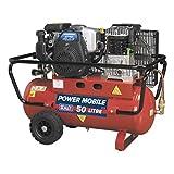 Sealey SA5040 - Compresor de cinturón con motor de gasolina de 4 hp