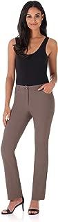 Women's Iconic Stretch 5 Pocket Straight Leg Pant w/Zipper Closure