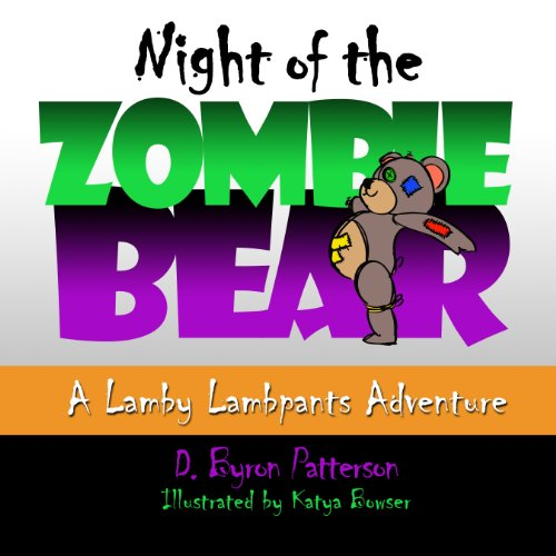 Night of the Zombie Bear audiobook cover art
