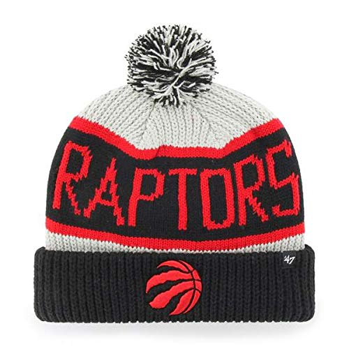 8d2084efe39 '47 Brand Calgary Cuff Beanie Hat POM POM - NBA Cuffed Knit Cap. '