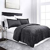 Sleep Restoration Micromink Goose Down Alternative Comforter Set - All Season Hotel Quality Luxury...