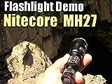 Nitecore MH27 Flashlight Demo At Lava River Cave