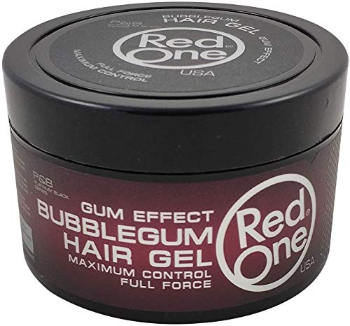 Red One Haargel parfümiert BUBBLEGUM maximaler Halt FULL FORCE 450 ml
