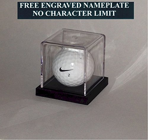 Display Case With Free Engraving Custom Engraved Softball Holder