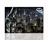 Berger Designs Batman Leinwand-Bild by Superhelden