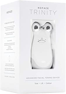 NuFACE Advanced Facial Toning Kit | Trinity Facial Trainer Device + Hydrating Leave-On Gel Primer | Handheld Skin Care Device to Lift Contour Tone Skin + Reduce Look of Wrinkles