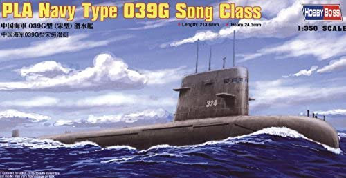 Hobby Boss HY83502 PLA Navy Type 039G Song Class SSG Boat Model Building Kit by Hobby Boss
