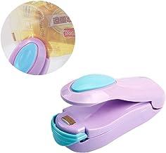 JZ Mini Portable Handheld Heat Vacuum Sealers for Airtight Food Storage - Purple