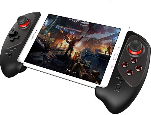 Bestoying Wireless Bluetooth Game Controller Gamepad für iPhone iPod iPad iOS System, Samsung Galaxy Hinweis HTC LG Android Tablet PC