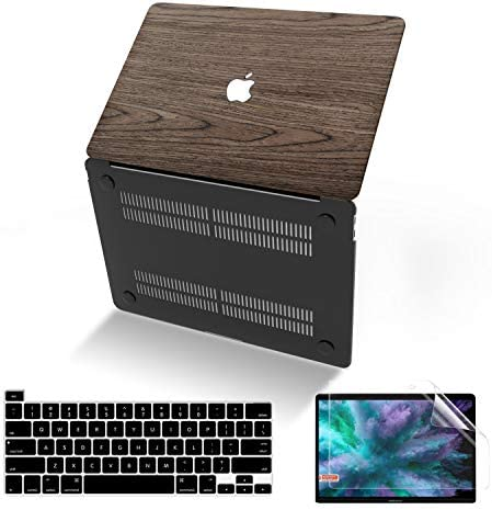 Anban MacBook Pro 16 Inch Case 2021 2020 2019 Release A2141 Slim Wooden Hard Protective Shell product image