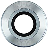 JJC Z-O14-42 Self-retaining Auto Open Close Lens Cap for Olympus M.ZUIKO Digital ED 14-42mm f/3.5-5.6 EZ Lens + JW emall Micro Fiber Cleaning Cloth