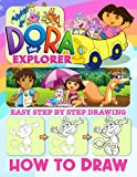How to Draw Dora The Explorer: A Simple Step-by-Step Guide To Drawing Dora The Explorer Relaxing