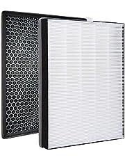 wkstore Reservefilterset compatibel met Philips AC2889, AC2887, AC2882, AC3829/10, serie 2000 2000i luchtreiniger | HEPA + actieve koolfilter | vervanging voor Philips FY2420/30, FY2422/30
