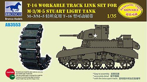 Unbekannt Bronco Models AB3553 – Modélisme Accessoires en T 16 workable Track Kit F.M de 3/M de 5 Stuart