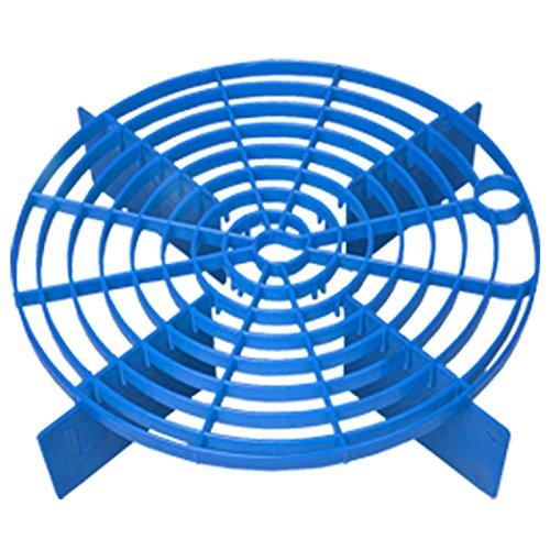 Rascador azul – Sistema de cubo de lavado / método – Grit Guard, Bucket Barrier