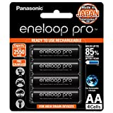 Panasonic eneloop pro AA Rechargeable Battery, Pack of 4