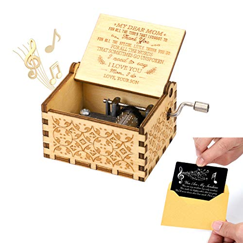 Amazon - Vintage Wooden Musical Box $9.99