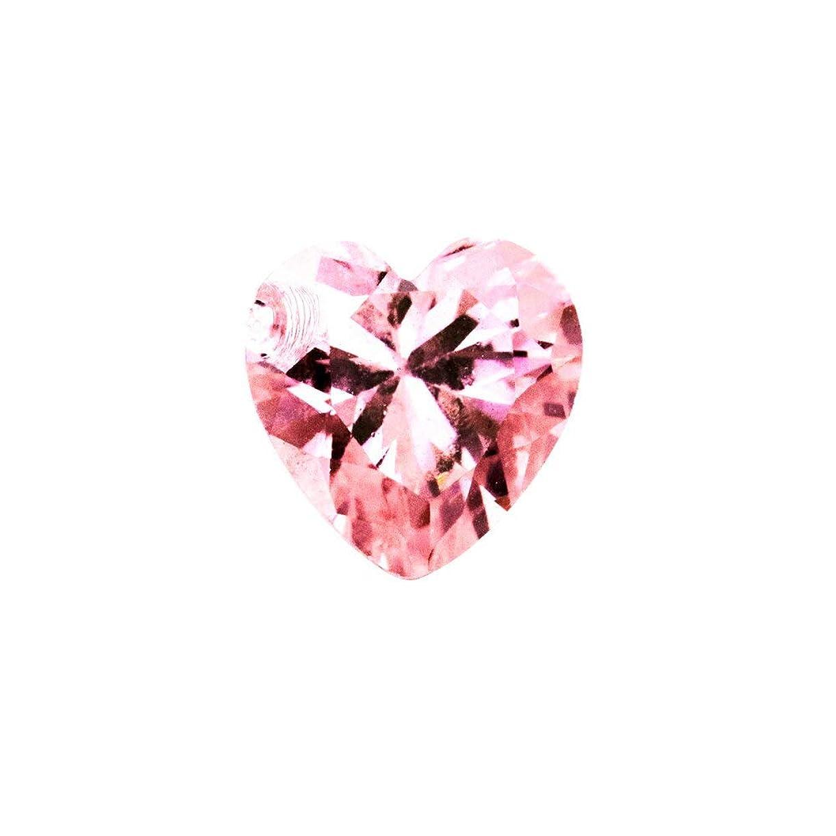 サミュエル感じ全体irogel イロジェル ラインストーン ジルコニア製 グロッシーストーン【ピンク】6mm 4個入り