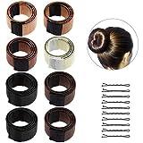 Lictin 8* Haar Bun Hair Bun DIY Haare Bun Tools Bun Clip Werkzeug-Brautfrisur Frisur Fashion Styling...