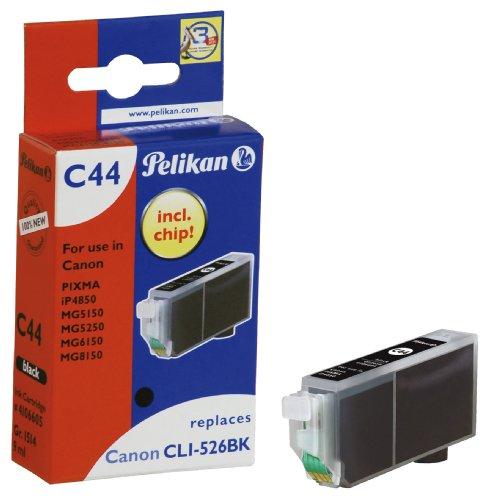Pelikan C44 Druckerpatrone (ersetzt Canon CLI-526BK) schwarz