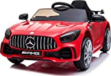 Best Kids Electric Cars - TOBBI 12V Licensed Benz GTR-AMG Electric Ride On Review