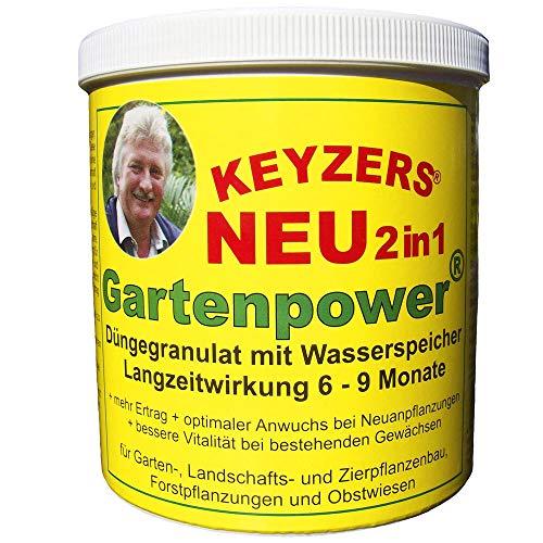 Keyzers Gartenpower 800g für optimalen Anwuchs bei Neuanpflanzungen