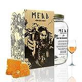 #My Brewery DRINK YOUR OWN BEER | Kit para fabricar Hidromiel | 3,8 litros | Receta castaño | 12,5% ALC. | Miel andaluza