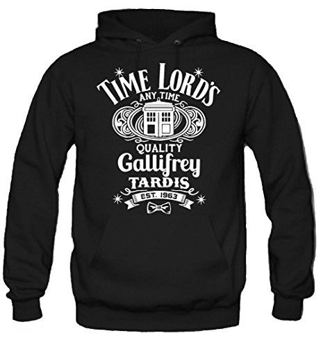 Time Lord's Kapuzenpullover | Dr. Doctor Who | Tardis | Gallifrey | Dalek | Fun (XL)