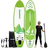 """10'10""""x32""""x6"""", 308lbs Capacity, All-Around Inflatable Stand Up Paddle Board - Stable,..."""
