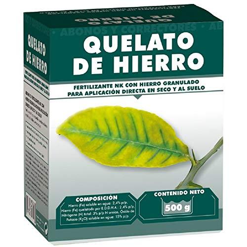 Quelato de hierro 500 gr - Fertilizante