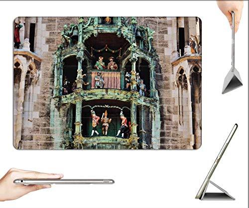 Case for iPad 10.2-inch 2019 (7th Generation) - Town Hall Glockenspiel SchAffler Dance Munich