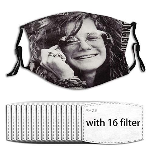 Euochengqus Janis Joplin In Concert Anti-Staub Nebelmasken K?nnen Den Schutz Reinigen Und Wiederverwenden with Filter with 16 Filter
