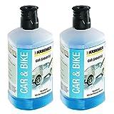 Karcher Shampooing nettoyant pour voiture 3en 1, Pour nettoyeur haute pression,...