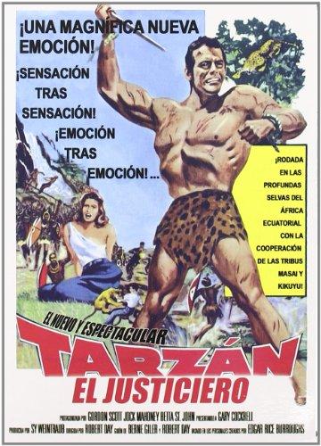 Tarzan El Justiciero (Import Movie) (European Format – Zone 2)