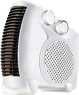 AGLZWY Mini Calentador Radiadores Bajo Consumo Convección Mudo Calor Rápido Medida De Seguridad para Sala De Estar Habitación Baño Oficina (Color : White)