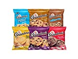 Includes 30 Packs of Your favorite Grandma's Brand cookies 8 mini vanilla sandwich crèmes, 4 mini chocolate chip cookies, 6 big chocolate chip cookies, 4 big peanut butter cookies, 6 big chocolate brownie cookies, and 2 big oatmeal raisin cookies Gre...