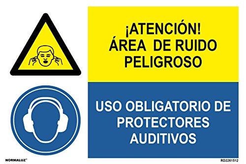 Normaluz PRD2201512 - combinatieborden goedgekeurd LET OP! Gehoorbescherming van PVC, wit, 0,7 mm, 60 x 40 cm, hoge kwaliteit