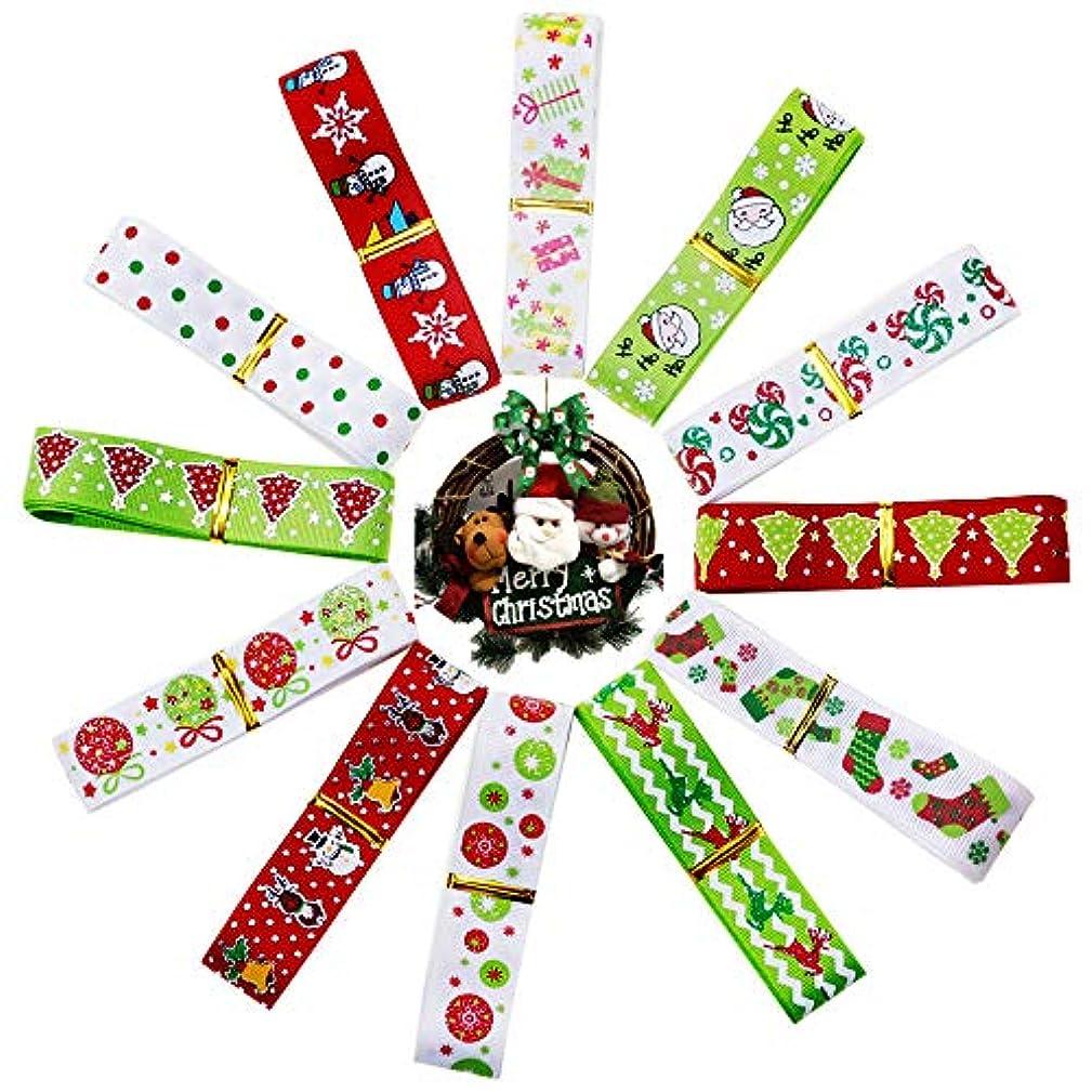 Christmas Ribbon for Gift 24 Yards 7/8