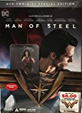 Man of Steel Two-Disc + Wonder Woman Collectible Action Figure Exclusive Movie Special Edition Set