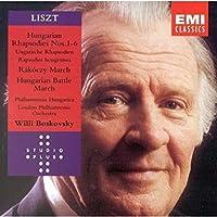 Hungarian Rhapsodies 1-6 / Rakoczy March by Liszt