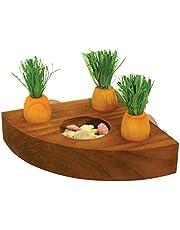 Juguetes contra el aburrimiento de Rosewood con forma de zanahoria y soporte para regalos