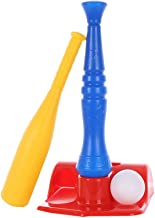 T-Ball Set for Toddlers, Kids, Baseball Tee Game Includes 1 Bat, 1 Base,2 Balls, Adjustable T Height - Adapts with Your Child's Growth Spurts - Improves Batting Skills - for Boys & Girls Age 3 Yrs