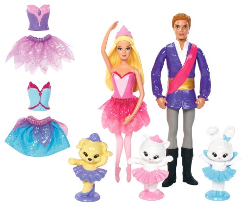 Mattel Barbie in the Pink Shoes Small Doll Character Gift Set