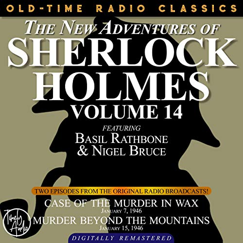 The New Adventures of Sherlock Holmes, Volume 14 cover art