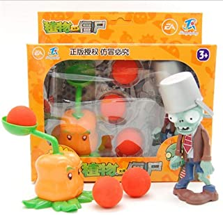 SKEIDO Chili Pitcher And Buckethead Zombie Plants vs Zombies toy for Children Collection
