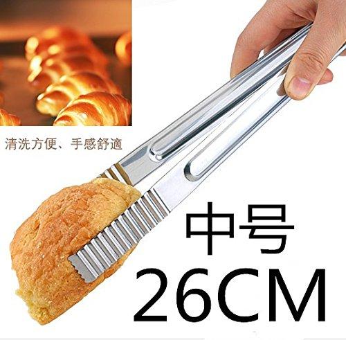 Xing Lin Lebensmittelzange Gegrilltes Fleisch Clips Mit Langen Edelstahl Brot Clips Clips, Gegrilltes Und Gebratenes Steak, Medium Nan Hanjia