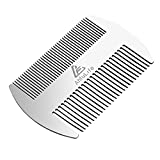 Metal Hair and Beard Comb